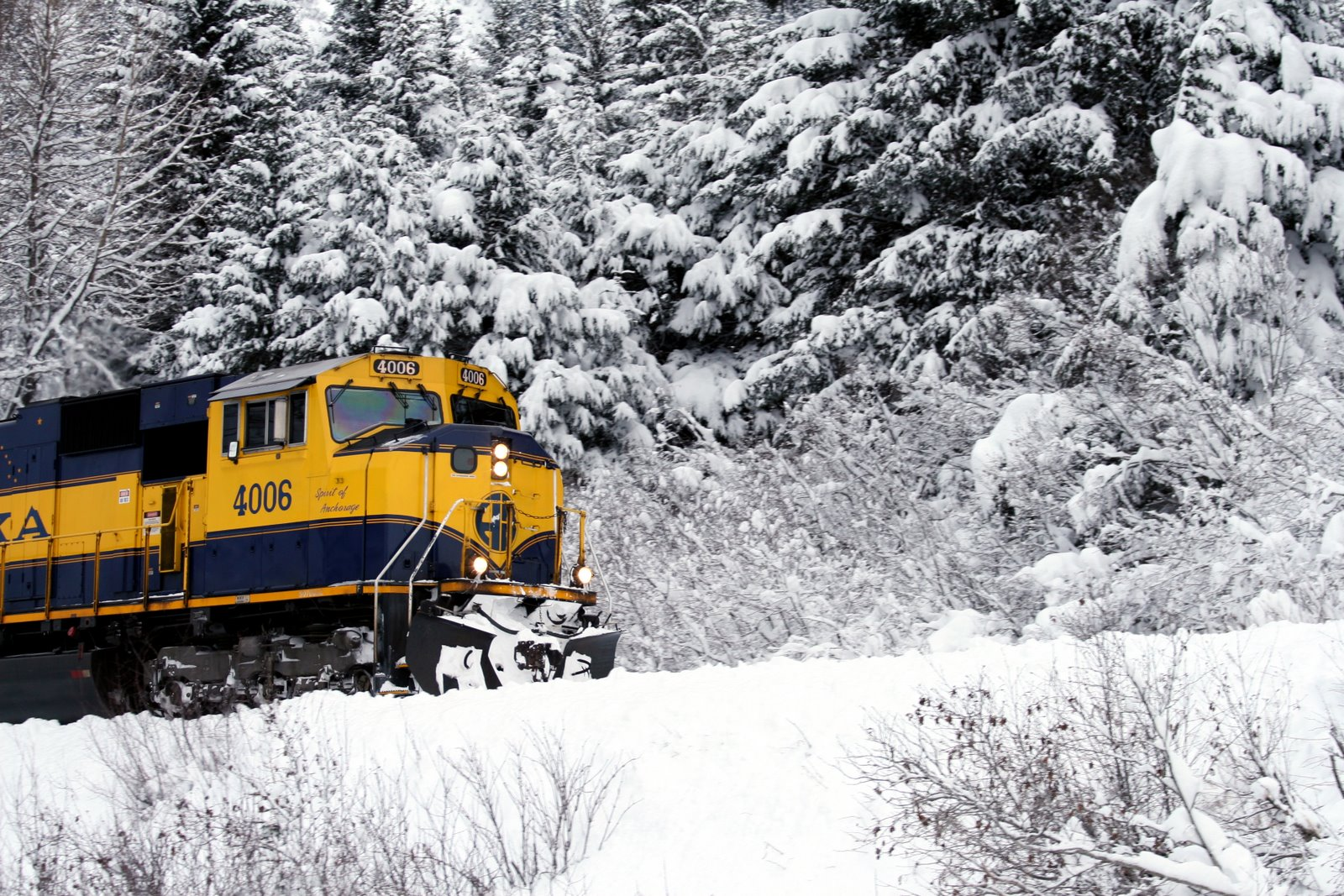 Alaska train toys